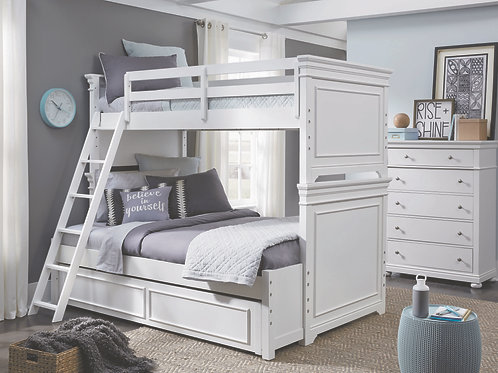 Canterbury: Twin/Full Bunk Bed