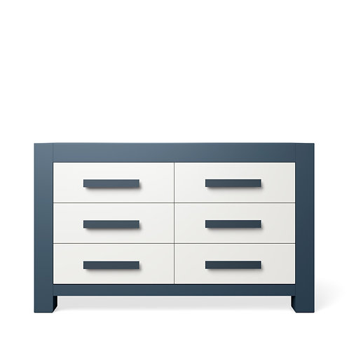 Romina Furniture: Ventianni Collection: Double Dresser