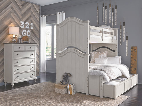 Brookhaven Youth: Twin/Full BunkBed