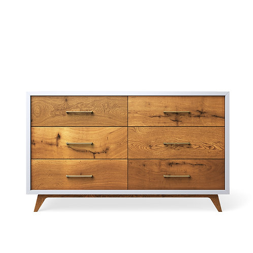 Romina Furniture: Uptown Double Dresser