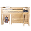 Thumbnail: Space Saver: Twin Loft with Dresser + Bookcase + Desk