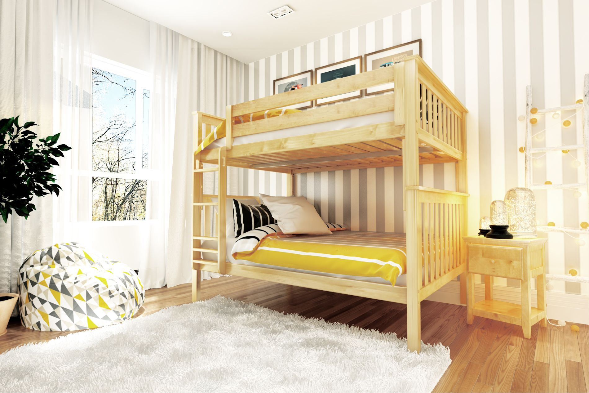 Picture of: Space Saver Full Full Bunk Caste Kids And Cribs