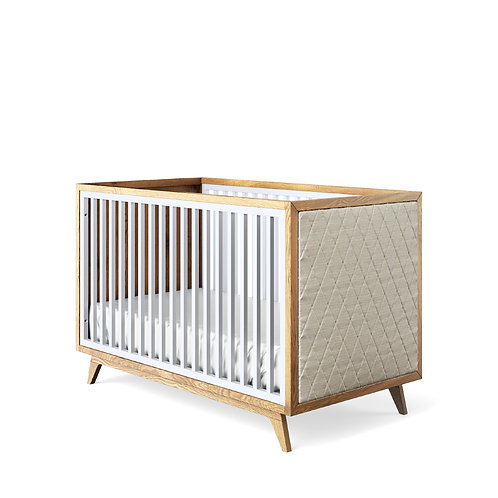 Romina Furniture: Uptown Classic Crib / Tufted