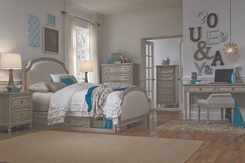 Emma: Upholstered Queen Bed