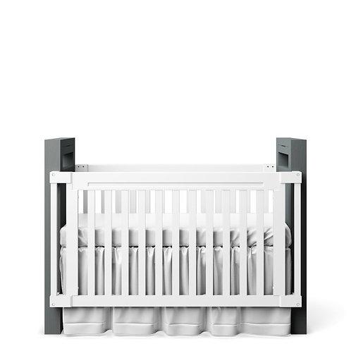 Romina Furniture: Ventianni Collection: Convertible Crib (Twin)