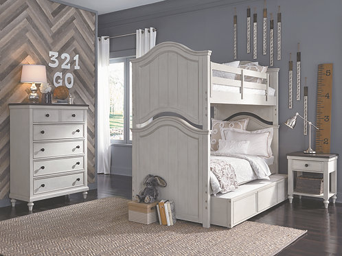Brookhaven Youth: Twin/Twin BunkBed
