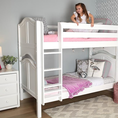 Maxtrix Mid Bunk Beds with Ladder