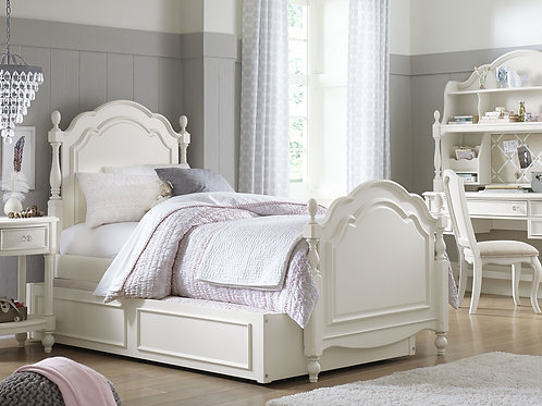 Harmony: Summerset Low Post Twin Bed