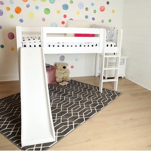 Maxtrix Loft Bed with Ladder + Slide