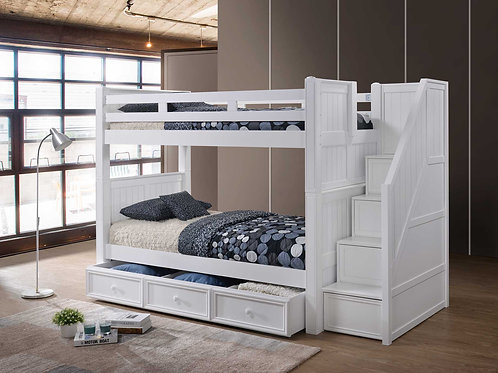 Cottage: Staircase Bunk Bed