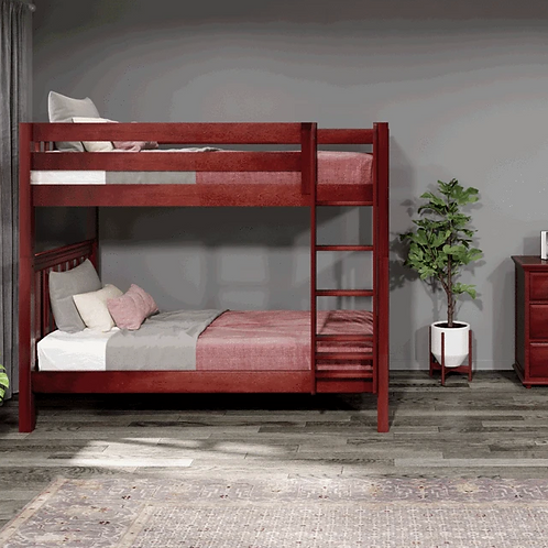 Maxtrix High Bunk Beds with Ladder
