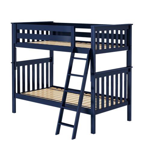 Space Saver: Twin/Twin Bunk Bed Angle Ladder