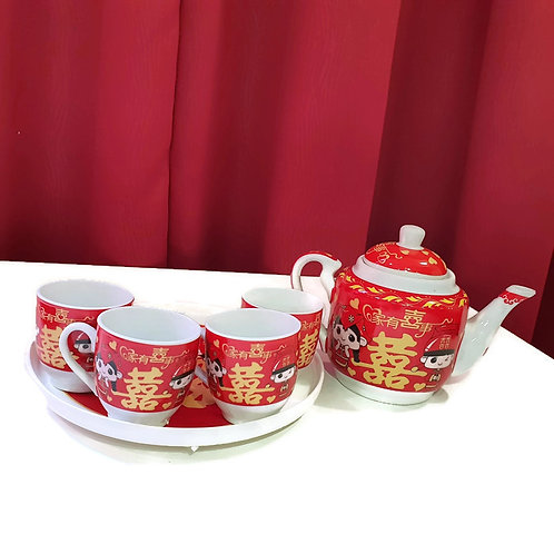 敬茶茶具(Y5)  Wedding Ceramic Tea Sets