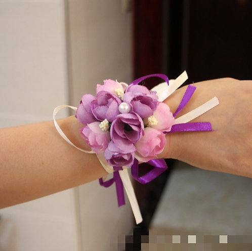 Wedding Bridemaid Corsage Corsage (Ready Stock) 姐妹手花 (现货)