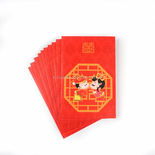 红包利是封 (小) (10张) Red Packets Red Envelope Hong Bao (Big) (9x9cm) (10PCS)