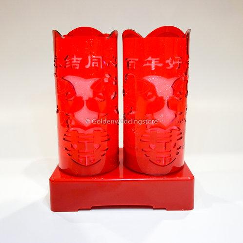 Chinese Wedding Battery LED Lamp 结婚LED电池灯(L13)