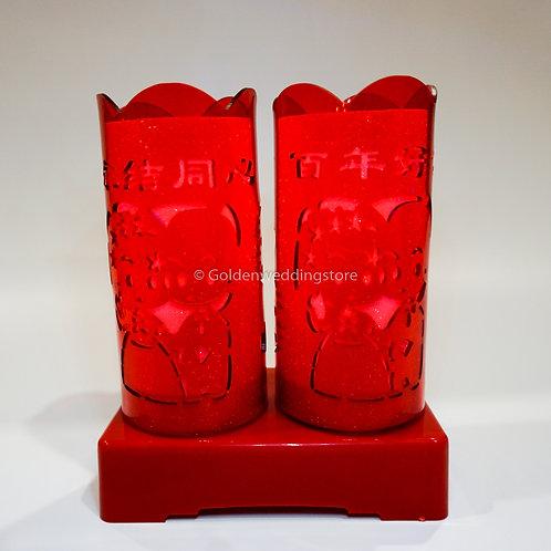 Chinese Wedding Battery LED Lamp 结婚LED电池灯(L21)