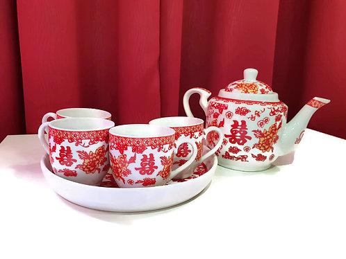 敬茶茶具(F3) Wedding Ceramic Tea Sets