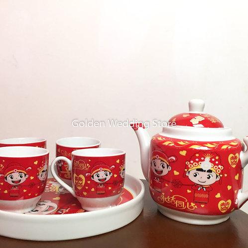 敬茶茶具(T27) Wedding Ceramic Tea Sets