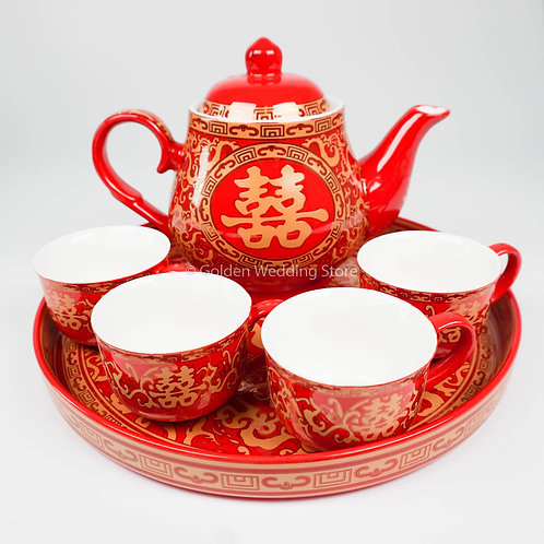 Luxury Wedding Teapot Set 豪华茶具