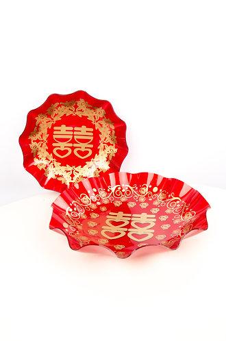结婚用品水果盘 (小) Wedding Fruit Plate (Small)