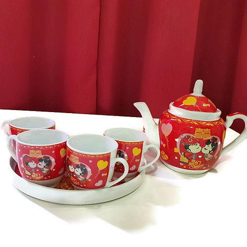 敬茶茶具(T23) Wedding Ceramic Tea Sets