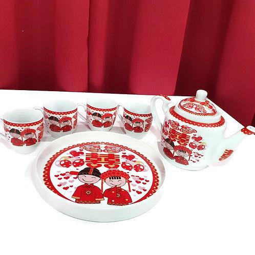 敬茶茶具(T3)  Wedding Ceramic Tea Sets