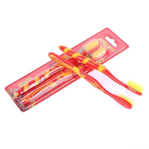 婚礼软毛龙凤凰夫妇牙刷 Wedding Soft Bristle Dragon Phoenix Couple Toothbrush