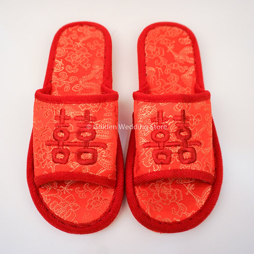 Wedding Indoor Slipper (Male) 结婚拖鞋 (男)