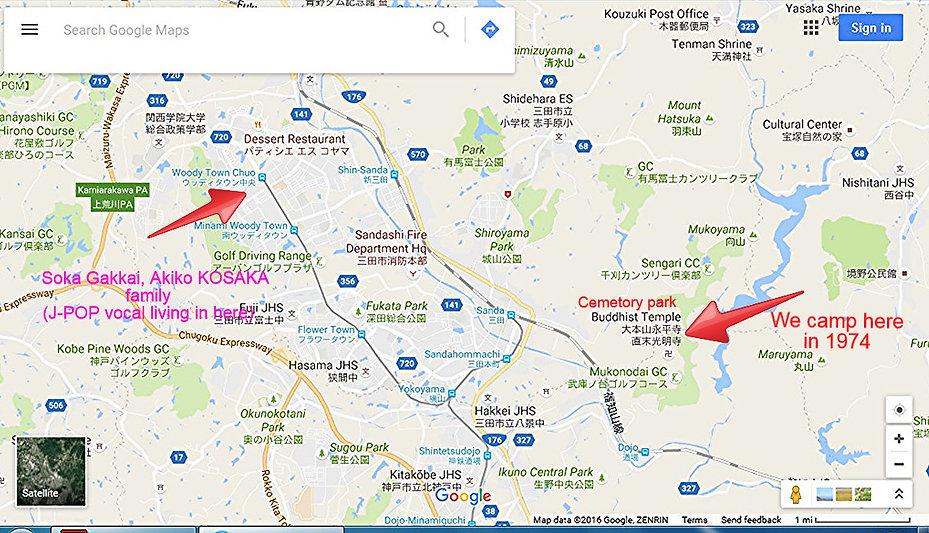 Yukiyasu YAMAMOTO's old house ner Mr,MOROTA ,order made chop shop guy very  close just 150-200m.