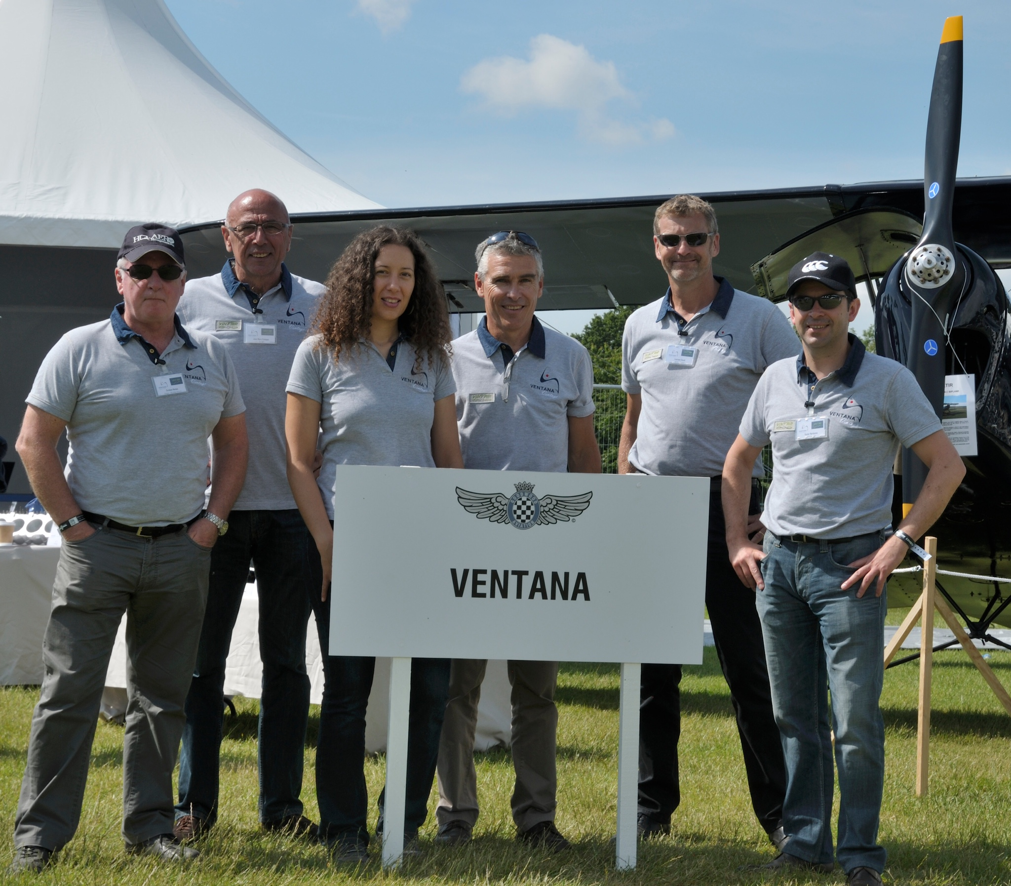 L'équipe Ventana et Vintair