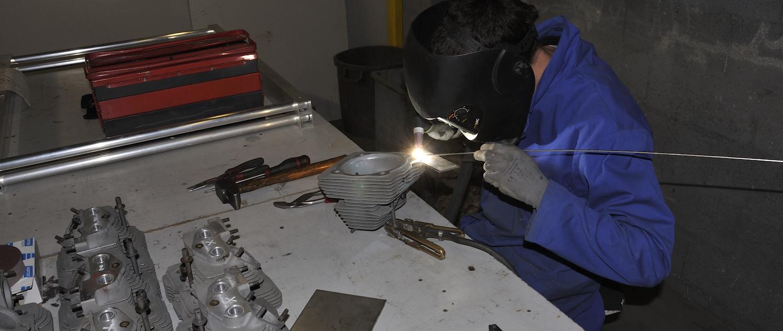 Réparation de pièces