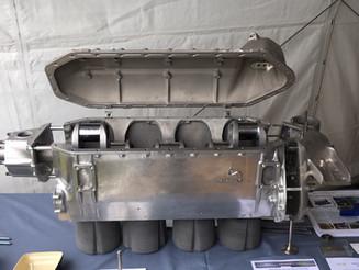 Vintair et Ventana exposent un moteur de Stampe reconstruit - Stampe engine on display at La Ferté A