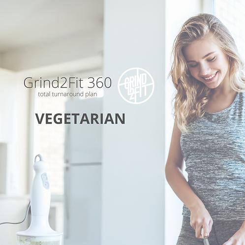 4 weeks. Vegetarian