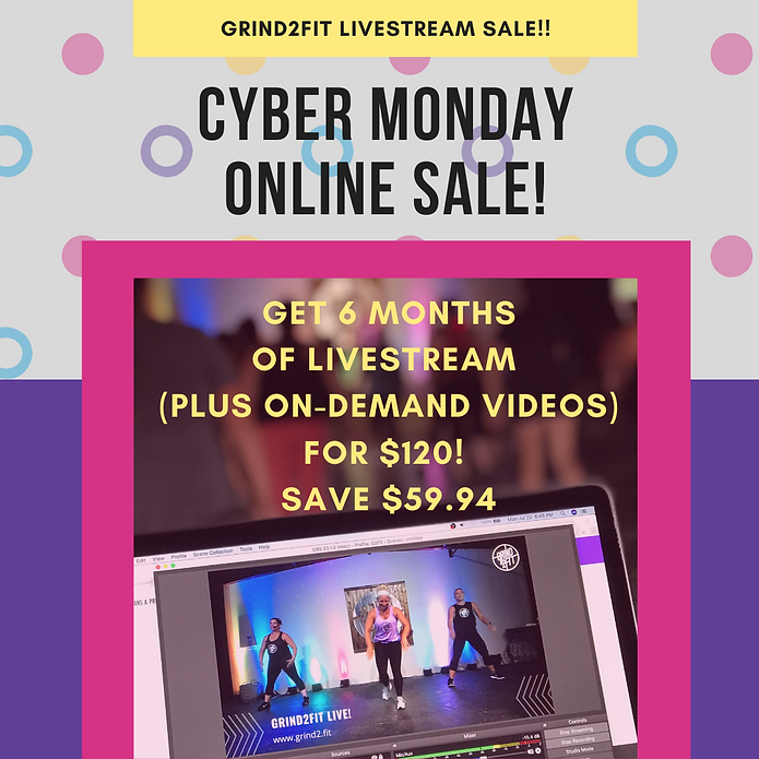 Yellow Cyber Monday Coupon Instagram Pos