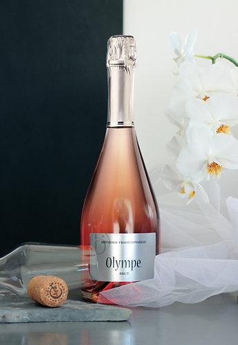 """""""Olympe"""" Rosé - Méthode traditionnelle élaborée à la cave"""