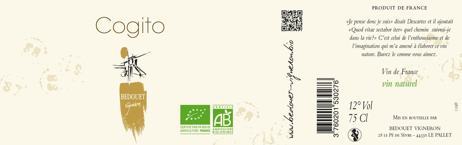 Cogito Bedouet vigneron BIO
