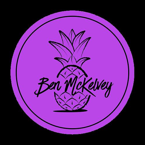 Sticker - purple