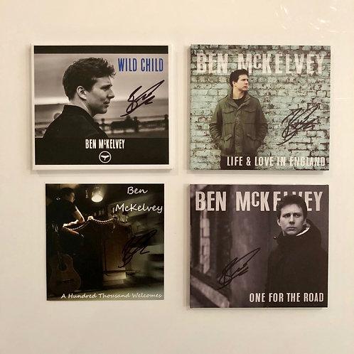 4 CD Signed Bundle