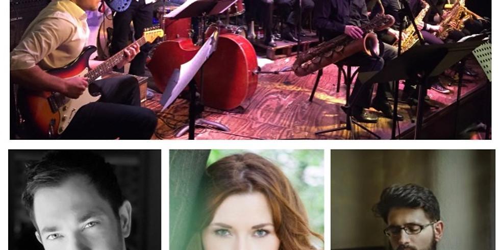 Live: Session & Big Band Foo Birds (21 Musiker!)