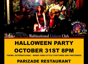 Halloween Party at Parizade