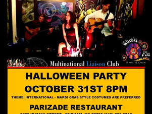 Halloween Party at Parizade