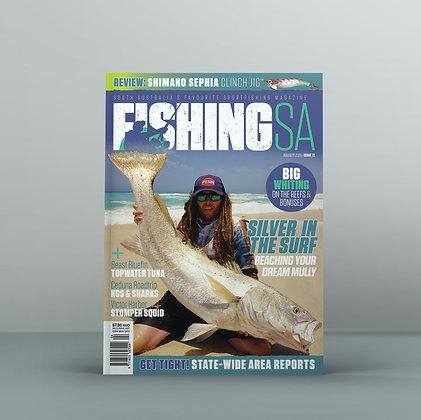 2 Years / 12 Issues Fishing SA Magazine Subscription