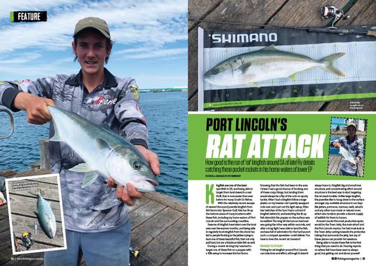 FISHING SA ISSUE 76 RATKINGS PORTLINCOLN