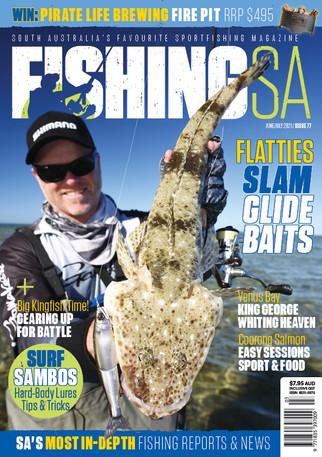 Fishing SA Mag Issue 77 cover