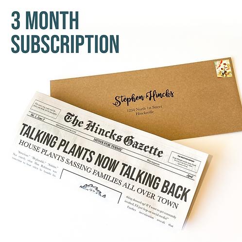 Hincks Gazette (3 Months)
