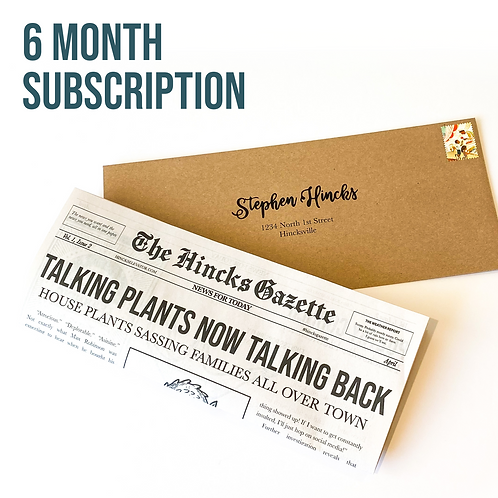 Hincks Gazette (6 Months)