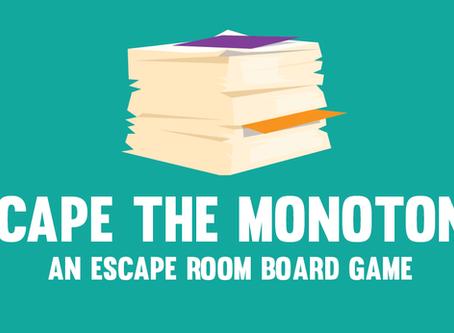 Team Bluefish Designs an Escape Room Board Game