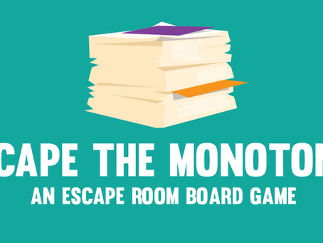 Team Bluefish Designs an Escape Room Board Game