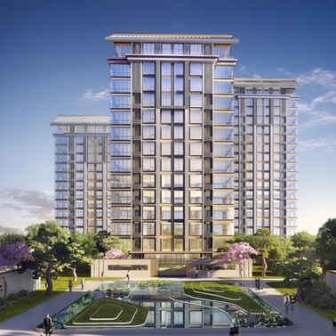 北京海淀区万寿路住宅及商业综合开发项目